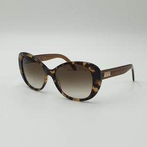Kate Spade Brown Arcylic Round Frame Brown Lens Sunglasses.